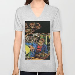 Horror in the Dark - the Pre-Code Collection Unisex V-Neck
