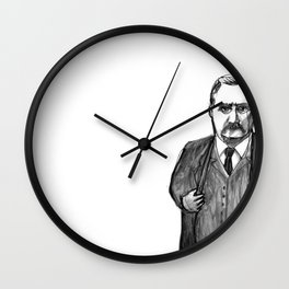 Theodore Roosevelt Did All the Things. Wall Clock