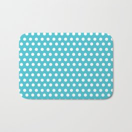 Happy Dot Aqua Bath Mat
