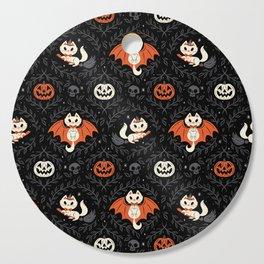 Spooky Kittens Cutting Board