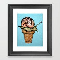 iScream Framed Art Print
