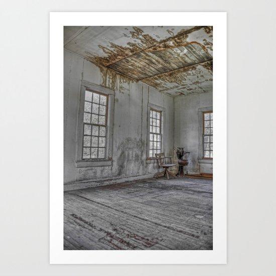 The Chair (redux redux) Art Print