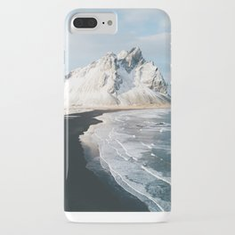 Iceland Mountain Beach - Landscape Photography iPhone Case