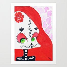 SugarSkull II Art Print