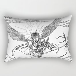 Michael the Archangel Rectangular Pillow