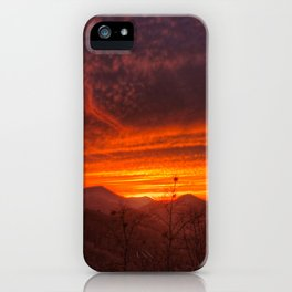 Smoky Mountain Sunset #1 iPhone Case