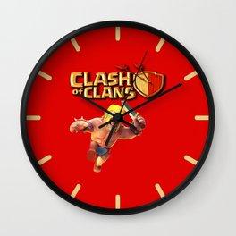 BARBARIAN,COC Wall Clock
