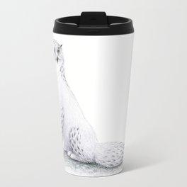 Snowy Fowl II Travel Mug