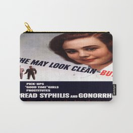 Vintage poster - STDs Carry-All Pouch