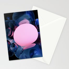 Warm Bubble Stationery Cards