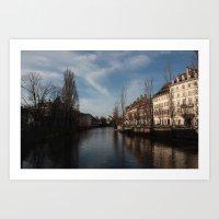 Sailing for home Art Print
