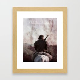 Destiny Is All - Uhtred The Last Kingodm Framed Art Print
