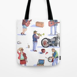 Music Poster! Tote Bag