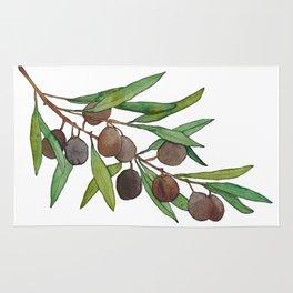 Olive leaf Rug