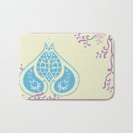 Indian Paisley Bath Mat