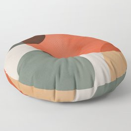 Holiday Abstract Theme Floor Pillow