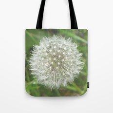 Dandelion Seedhead Tote Bag