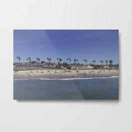 Santa Cruz, CA Metal Print