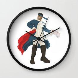 hercules mulligan Wall Clock
