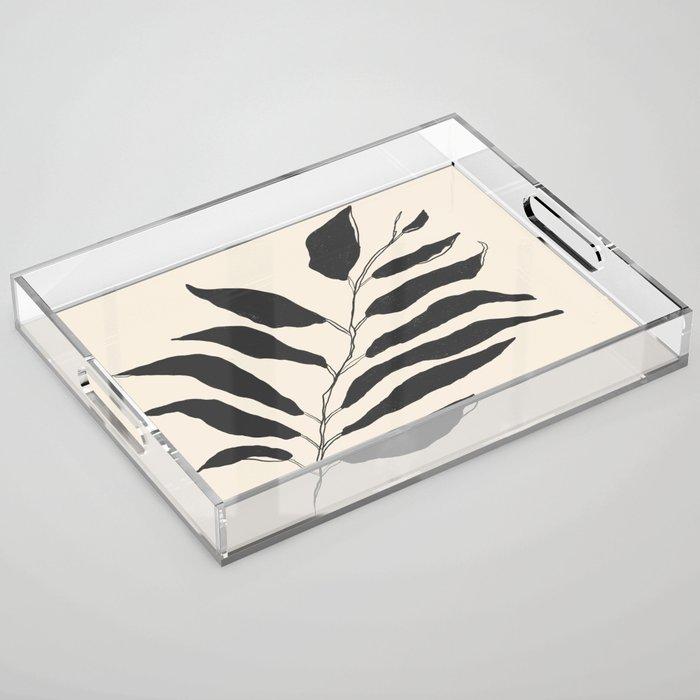 breezy palm Acrylic Tray