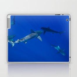 Hawaiian Shark V Laptop & iPad Skin