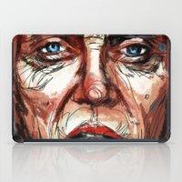 christopher walken iPad Cases featuring Walken by Dnzsea