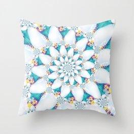 White Pears Throw Pillow