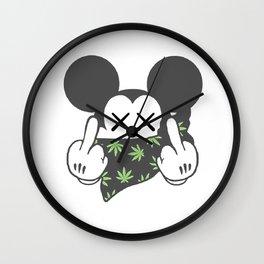 420 || Kaws Mic-key  Wall Clock