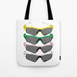 Tour de France Glasses Tote Bag