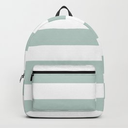 Jet stream - solid color - white stripes pattern Backpack
