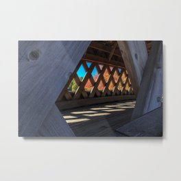 Covered Bridge, New Hampshire Metal Print