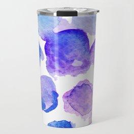 Warercolor dots Travel Mug