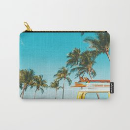 Yellow Van Down by the Sea Carry-All Pouch