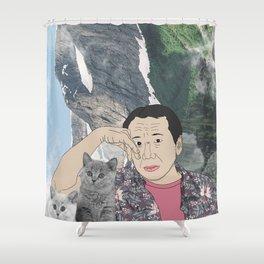 HARUKI MURAKAMI Shower Curtain