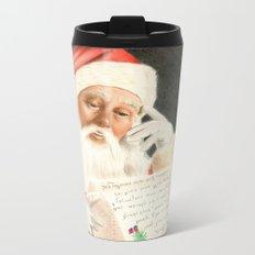 Letter to Santa Claus Metal Travel Mug