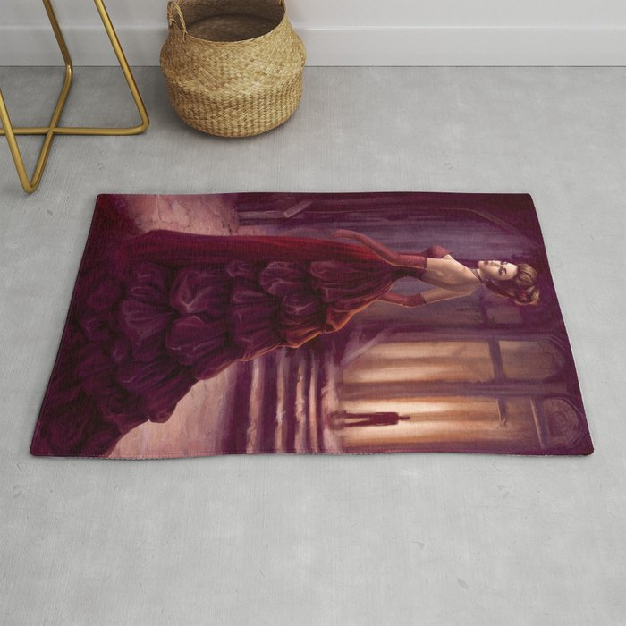 Don T Look Back Fantasy Art Rug By Thubakabra