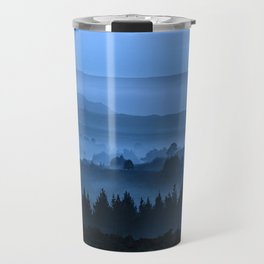 My road, my way. Blue. Travel Mug