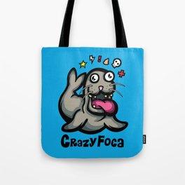 Crazy Foca Tote Bag
