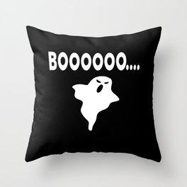 Boo Ghost Halloween  Costume Throw Pillow