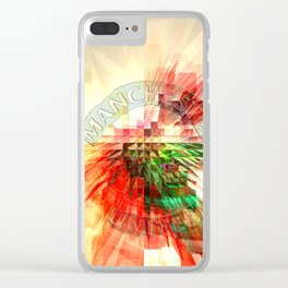 man united Clear iPhone Case