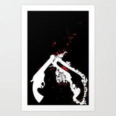pistol Whip 2 Art Print