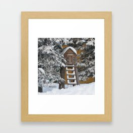 Keeping Things Way Cool Framed Art Print