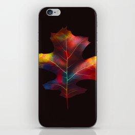 Rainbow Leaf iPhone Skin