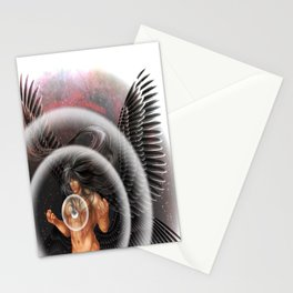 heavenly body - archangel micheal Stationery Cards