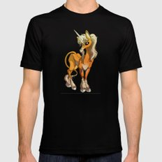 Unicorn Mens Fitted Tee Black MEDIUM