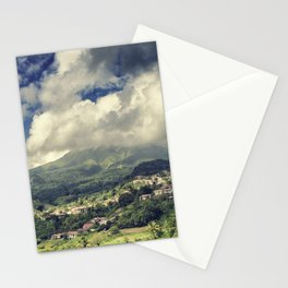 Mt. Pelee, Martinique Stationery Cards