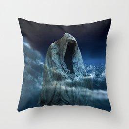 Cloak of Conscience Throw Pillow