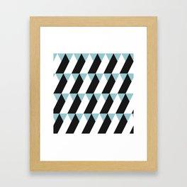 TriTriTriangle Framed Art Print