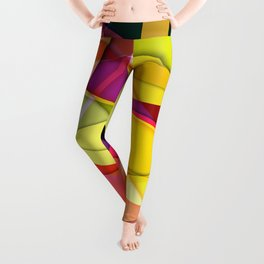 Abstract #367 Leggings