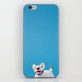 Oh happy dog iPhone Skin